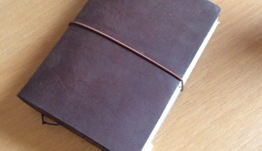 トラベラーズノートパスポートサイズ茶色