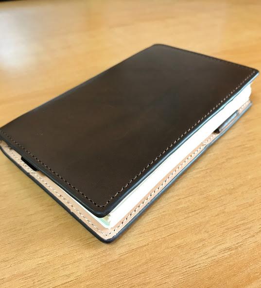 ダヴィンチシステム手帳 アースレザー ポケットサイズ