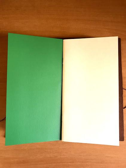 トラベラーズノートにリフィルを2冊セット