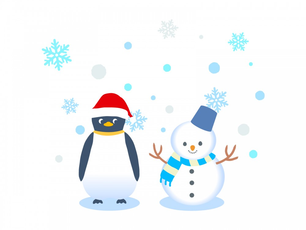 ペンギン歩き