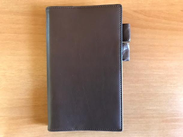 ダヴィンチアースレザー バイブルサイズシステム手帳のペンホルダー