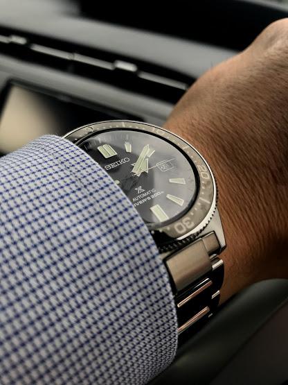 セイコー プロスペックス SBDC051を腕に装着した画像