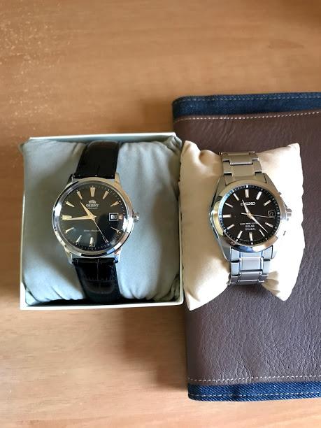 バンビーノ SAC00004B0とセイコーセレクション SBTM217のサイズ比較
