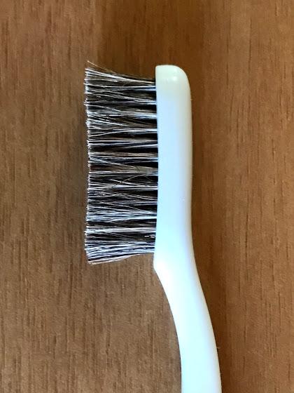 エビス  軟毛 350ハブラシ 毛の部分の拡大像