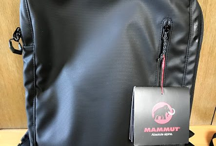 MAMMUT Seon Transporter購入レビュー!リュックでも使える出張用ビジネスバッグの決定版!