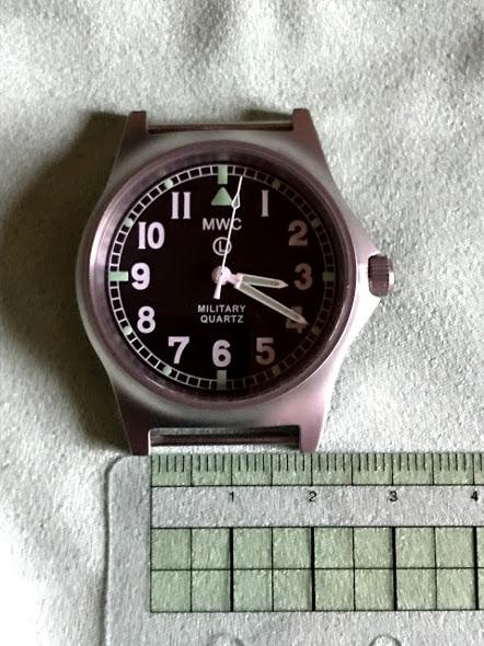 腕時計のラグ幅測定