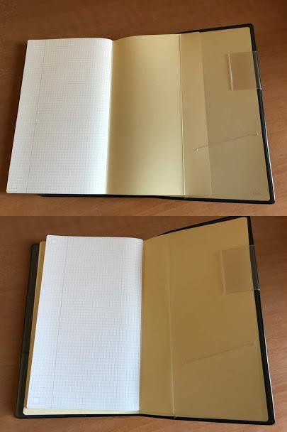 ジブン手帳Biz miniにIDEAをセット